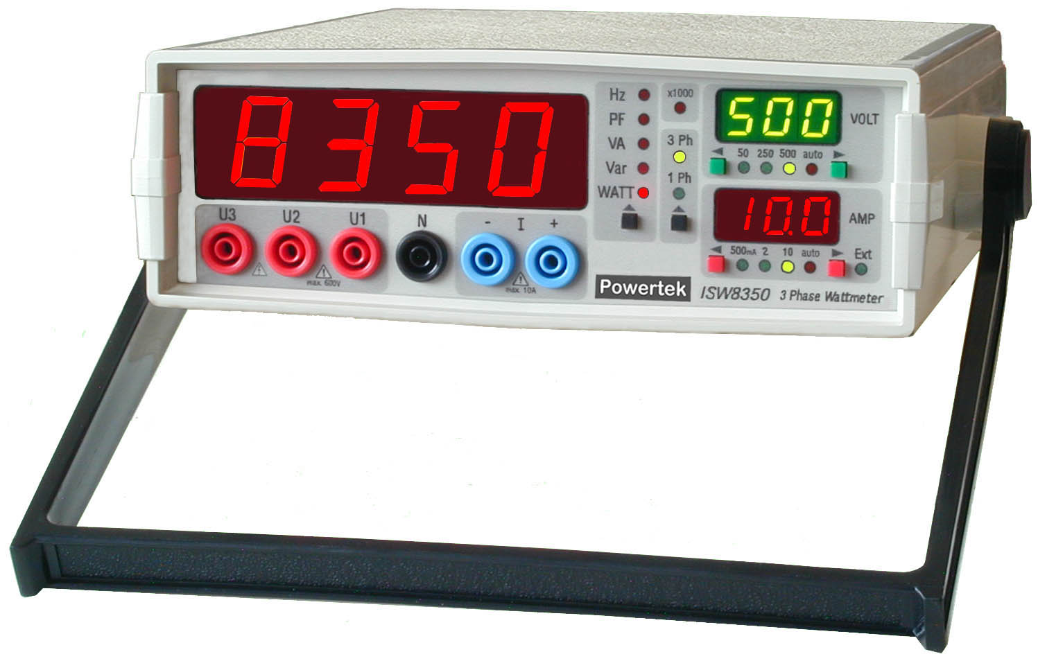 3 Phase Power Meter : Three phase watt meter