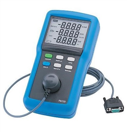PA120 Three Phase Portable Wattmeters