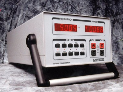 Model SD1000 phase angle meter with isolated inputs